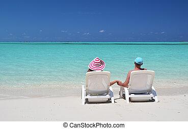 bahamas, praia, exuma, par