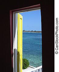 bahamas, puerta abierta