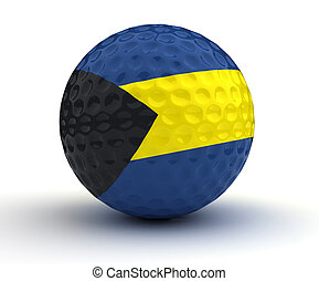 Bahamian Golf Ball