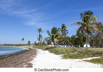 Bahia Honda beach, Florida Keys - Beautiful white sand beach...