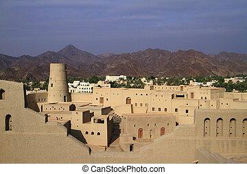 bahla, 城砦