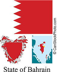 bahrain, bandierina condizione