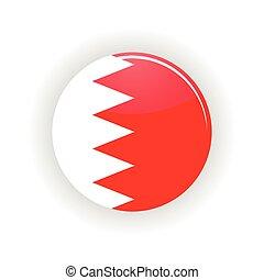 Bahrain icon circle