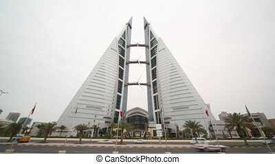 Bahrain World Trade Center in Manama, Bahrain - MANAMA -...