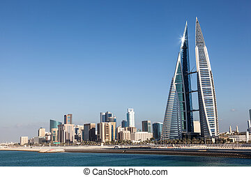 Bahrain World Trade Center - World Trade Center skyscraper...