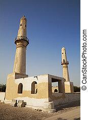 bahrajn, starożytny, khamis, meczet