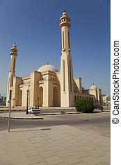 bahrein, al-fateh, mezquita, manama, magnífico
