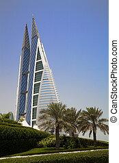 bahrein, mundo, centro, manama, comercio