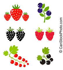 baie, fruits
