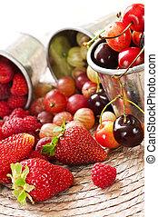 baies, fruits