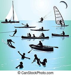 baigner, watersports