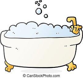 Vecteur dessin anim illustration baignoire vecteur search clip art illustration drawings - Email de baignoire abime ...