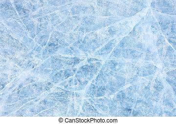 Baikal ice texture - Texture of ice of Baikal lake in...
