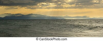 Baikal landscape - the photograph was made from the...