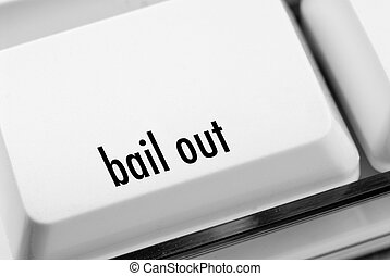 Bail out key on computer keyboard