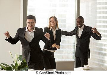 bailando oficina