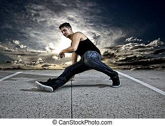 bailarín, breakdance