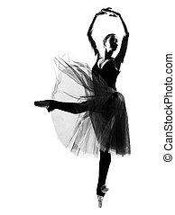 bailarín de ballet clásico, mujer