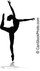 bailarín de ballet clásico