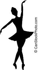 bailarín de niña