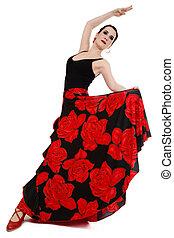 bailarín, flamenco
