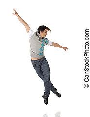 bailarín, golpecito