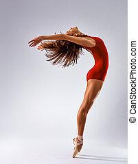 bailarina, bailarín