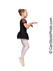 bailarina, bailarín, bailando