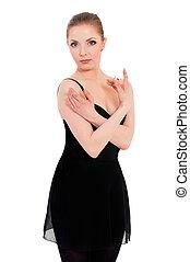 bailarina, bailarín de ballet clásico, mujer