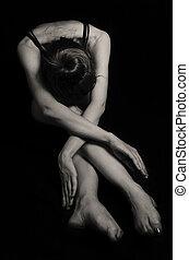 bailarina, jazz