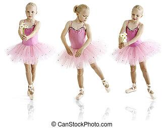 bailarina, joven