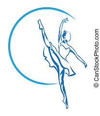 bailarina, símbolo