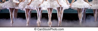 bailarinas, piernas