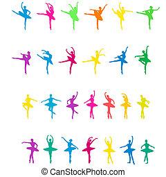 bailarines, ballet