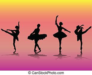 bailarines ballet