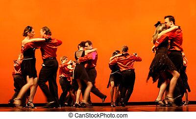 bailarines, clásico