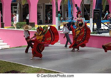 bailarines, mexicano