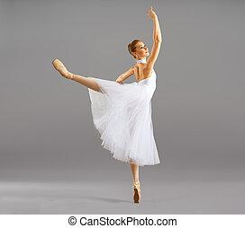baile, bailarina, ballet, postura, clásico