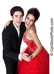 baile de salón, pareja