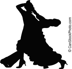 baile, deporte, baile de salón