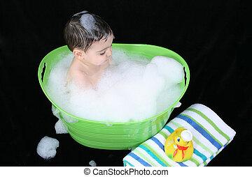 bain moussant