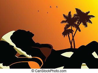 bains de soleil