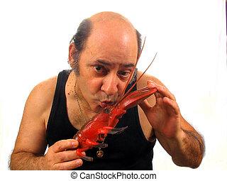 baiser, homard