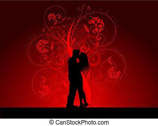 baisers, couple