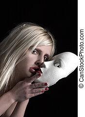 baisers, masque