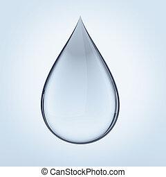 baisse eau