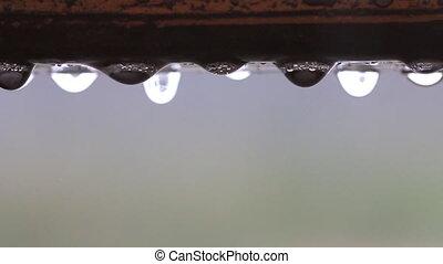 baisse eau, pluie