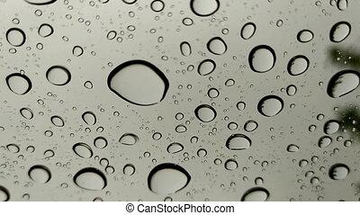 baisses pluie