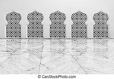 baiturrahman, banda, aceh, mezquita, magnífico