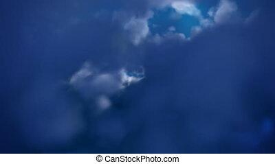 BAIXO, Vôo, volta, Nuvens